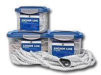 NEW SAMSON ROPE 2 IN 1 DOCK LINE BLK 5//8X25FT 618040202561