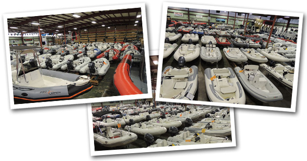 Boats and Motors Collage