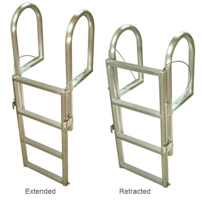 International Dock Floating Dock Ladder - 5 Comfort Steps