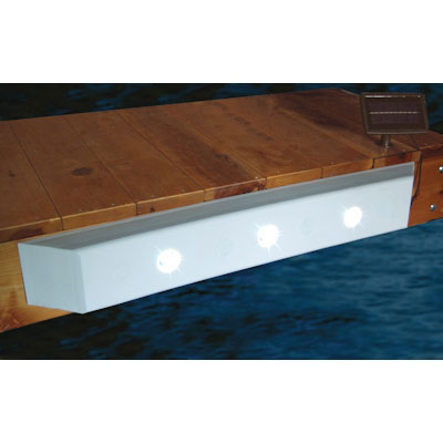 Taylor Made  Dock Cushion with Recessed Solar LED Lights