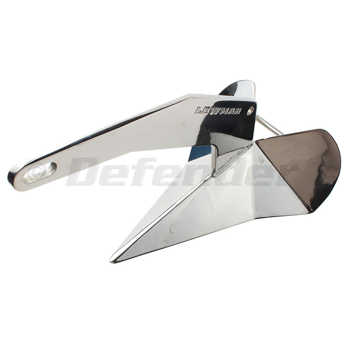 Lewmar Self Launching Delta Stainless Steel DTX Anchor - Short Shank