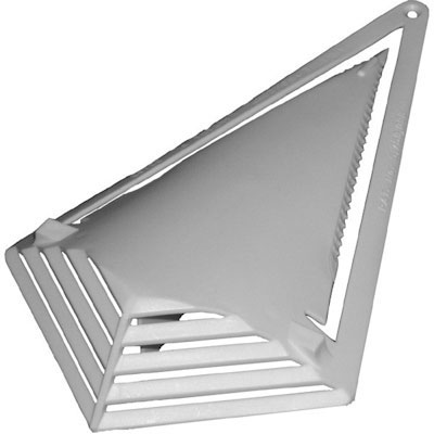 Stealth Self-Piercing Louvered Shrink Wrap Vent