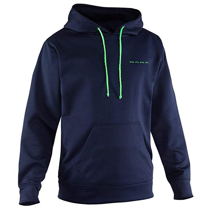 Grundens Men's Fogbow Poly Tech Hoodie Fishing Sweatshirt - Medium