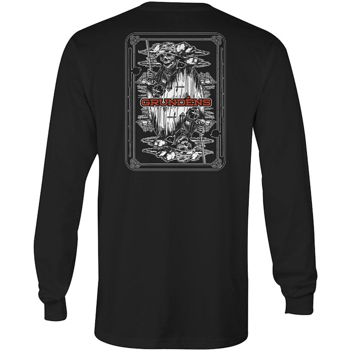 Grundens Gambler Long Sleeve T-Shirt - Medium