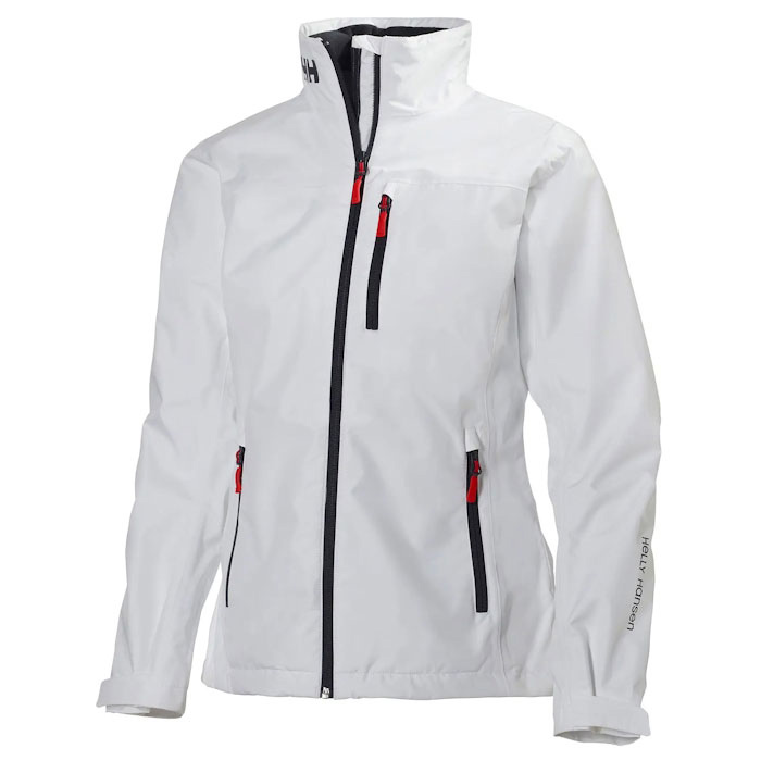 Helly Hansen Women's Crew Jacket - White Small