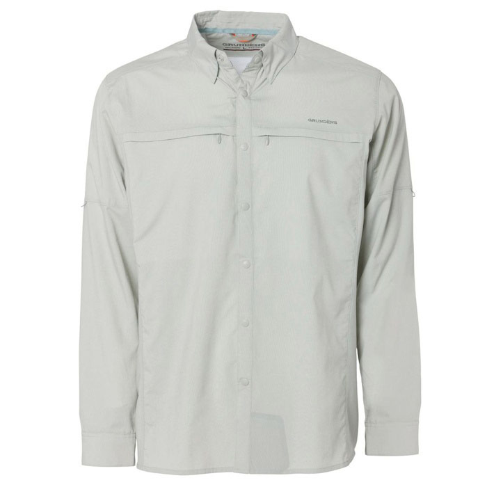 Grundens Bayamo Cooling Long Sleeve Shirt - Overcast 3X-Large