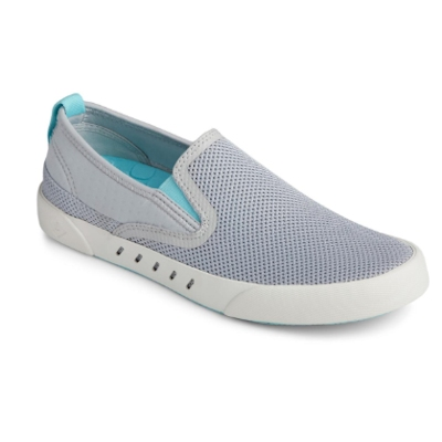 Sperry Women's H20 Maritime Slip-On Sneaker Gray