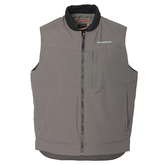 Grundens Men's Ballast Insulated Vest - Charcoal Large