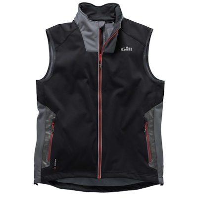 GILL RACE SOFTSHELL VEST