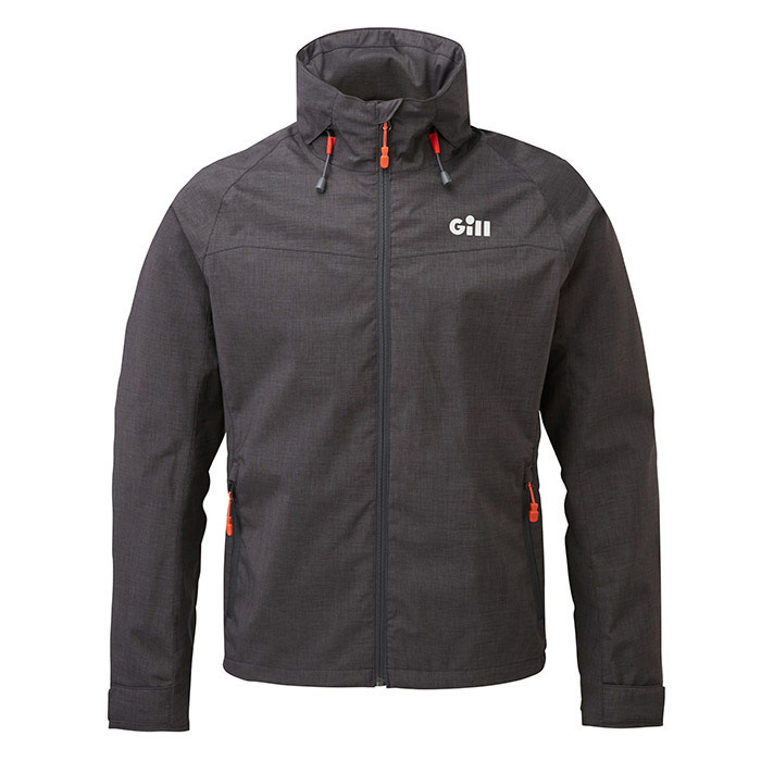 Gill Pilot Men's Jacket - Graphite Melange, Small
