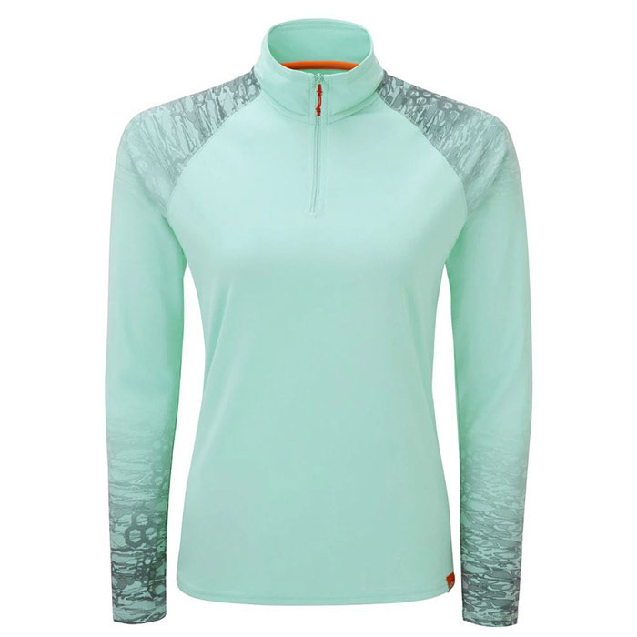 GILL Women's UV TEC L/S Zip Tee - MM-4