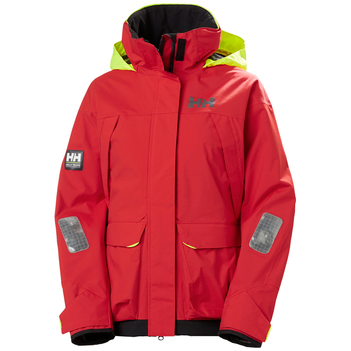 Helly Hansen Women's Pier 3.0 Jacket - Alert Red Medium