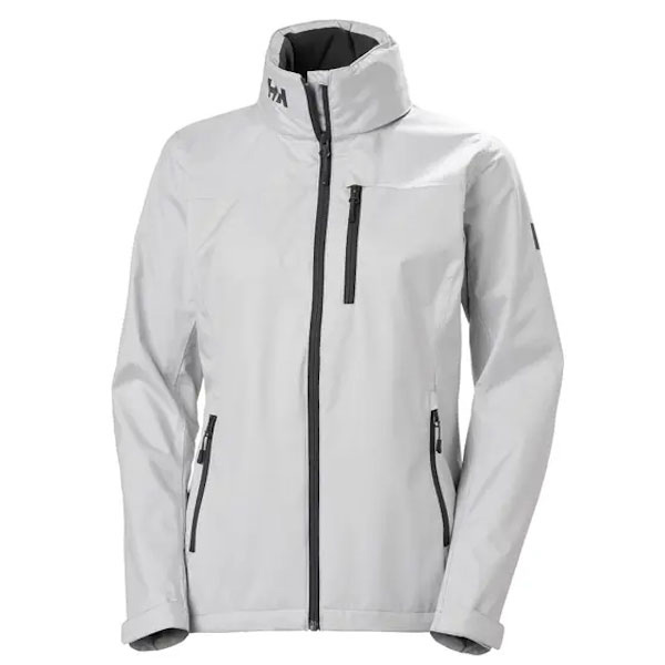 Helly Hansen Women's Crew Hooded Jacket - Fog Gray XL