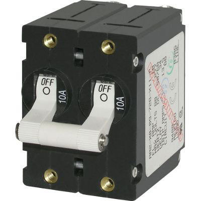 Blue Sea Systems A-Series Toggle Circuit Breaker - Various Sizes
