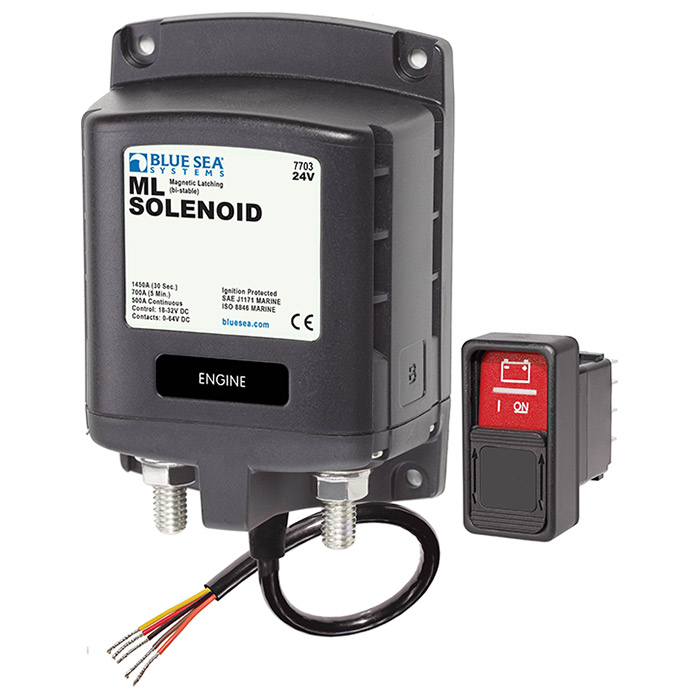 Blue Sea Systems ML-Series Solenoid Switch - 12 Volt DC