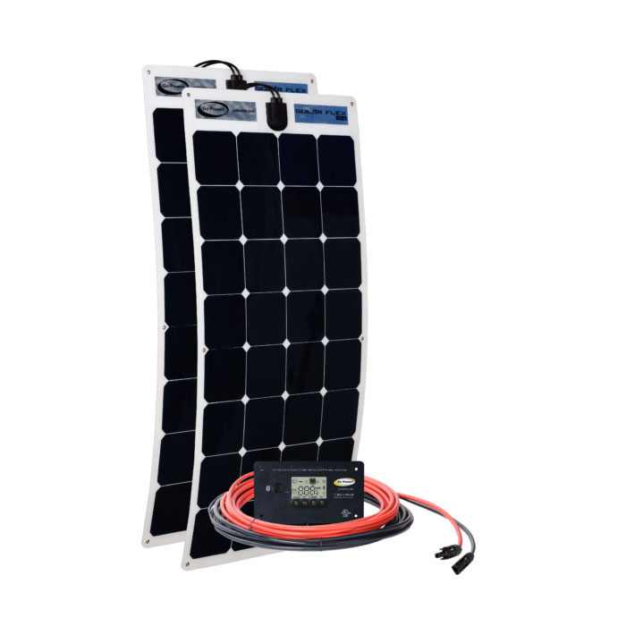 Go Power! Solar Flex Solar Charging Kit 200 Watts