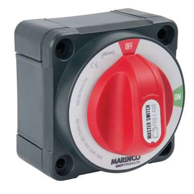 Marinco Pro Installer Double Pole On-Off Battery Switch