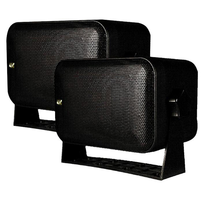 "Poly-Planar MA9060 5-1/4"" 2-Way Box Speakers"