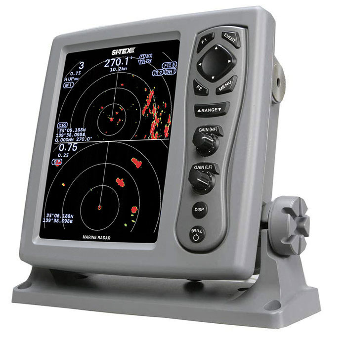 SI-TEX Digital Color LCD Marine Radar T-940A-4