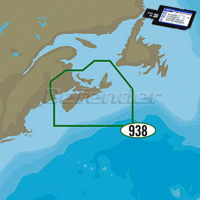 C-MAP 4D MAX+ LOCAL Electronic Navigation Charts Fundy, NS, PEI & Cape Breton