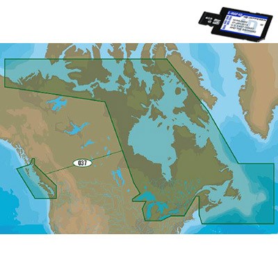 CMAP 4D CONTINENTAL Electronic Navigation Charts