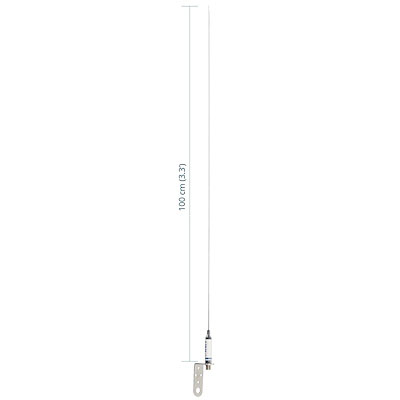 Scout KM-3A Stainless Steel VHF Antenna