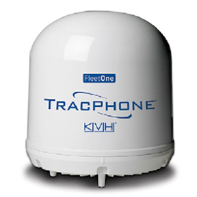 KVH TracPhone Fleet One Inmarsat Antenna