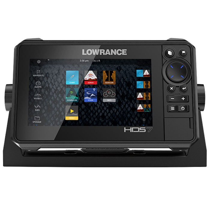 Lowrance HDS-7 LIVE Multifunction Display w/ Transducer - REMAN