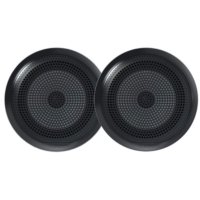 "Fusion EL Series 6.5"" Shallow Mount Full Range Marine Speakers"