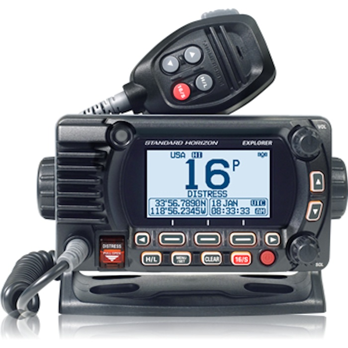Standard Horizon Explorer GX1850GPS Fixed-Mount VHF Radio w/GPS and NMEA 2000