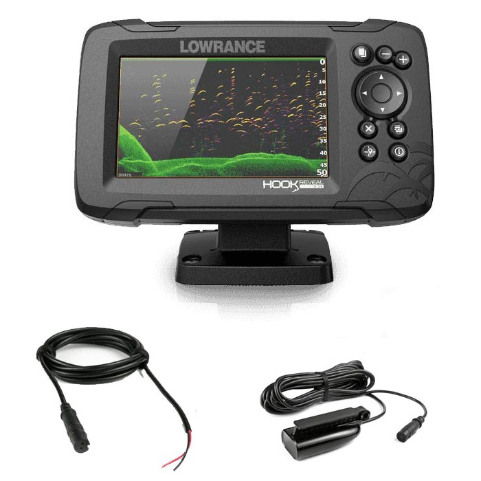 Lowrance HOOK Reveal 5 with 50/200 HDI CHIRP Transducer - 5