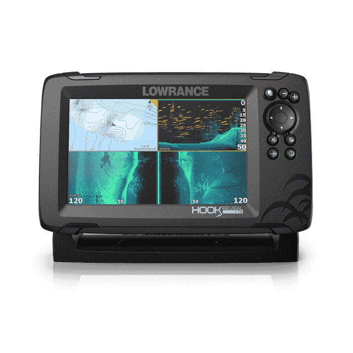 Lowrance HOOK Reveal 7 with TripleShot Transducer - 7