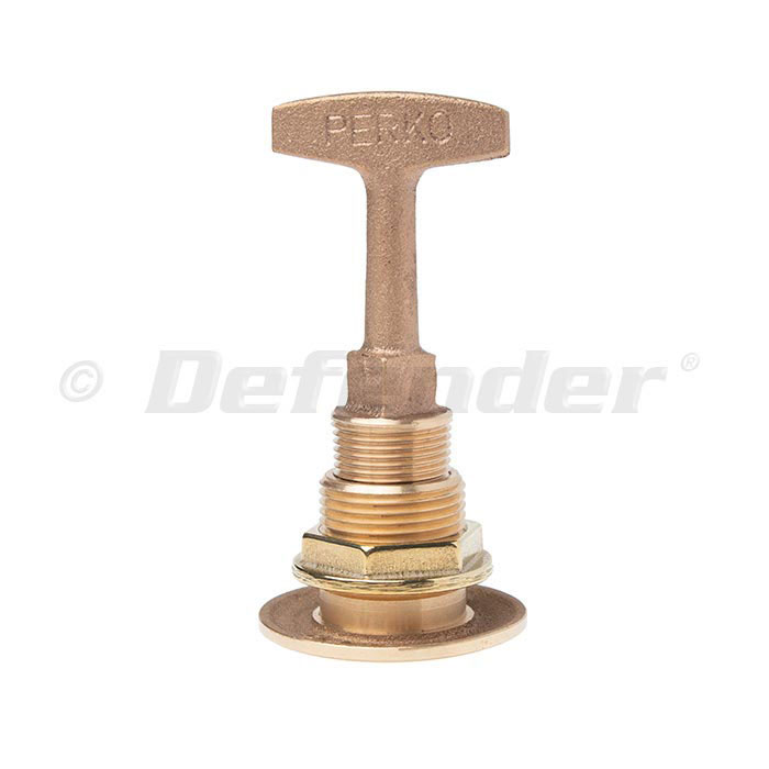 "Boat Marine Die Cast Bronze Garboard T-Handle Drain Plug 3//4/"" NPT Thread"