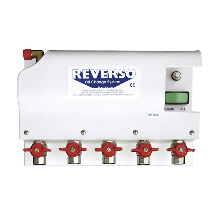 Reverso GP-3025 Oil Change System with Gear Pump - 24V