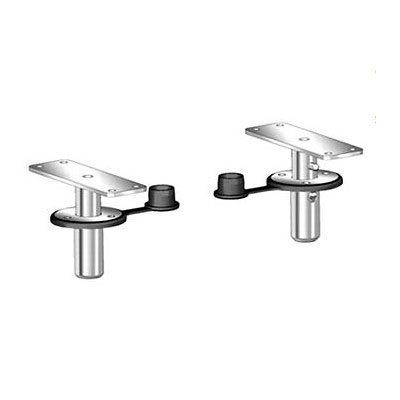 Magma Dual Locking Flush Deck Socket BBQ Grill Mounts