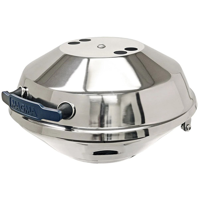 Magma Marine Kettle Charcoal BBQ Grill with Hinged Lid, Original Size