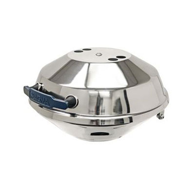 Magma Marine Kettle Charcoal BBQ Grill with Hinged Lid, Party Size