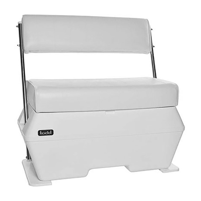 Todd Deluxe Swingback Dry Storage Boat Seat