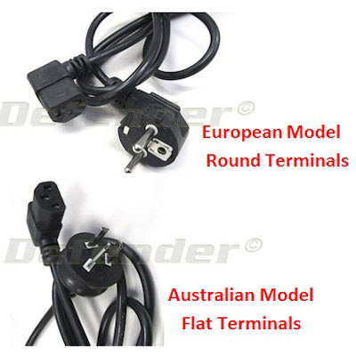 Norcold 230 VAC Power Cord Kit - European