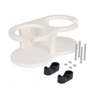 WHTW WHITE NYLON DRINK HOLDER