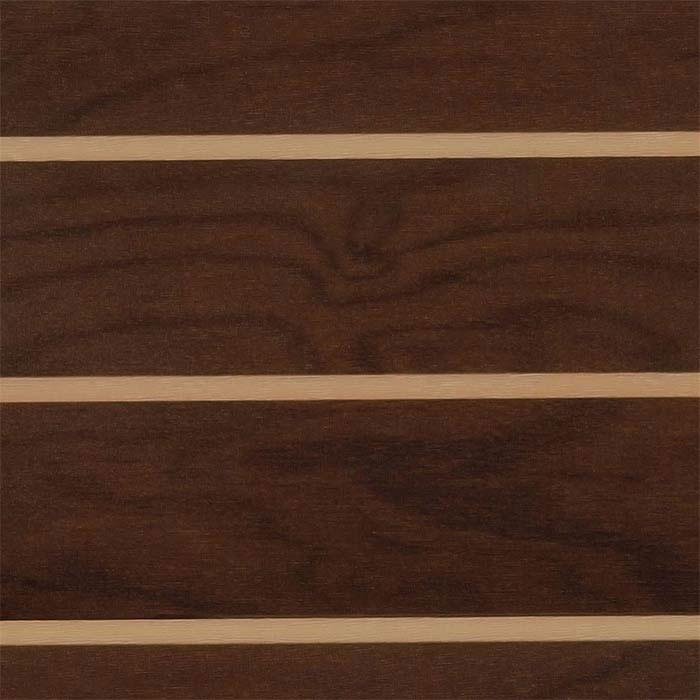 Lonseal IMO Lonmarine Wood Marine Flooring Matte - Walnut & Holly