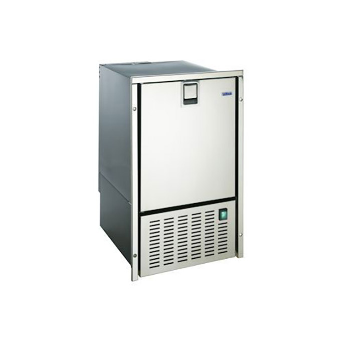 "Isotherm ""White Ice""  Ice Maker, Stainless Steel Finish"