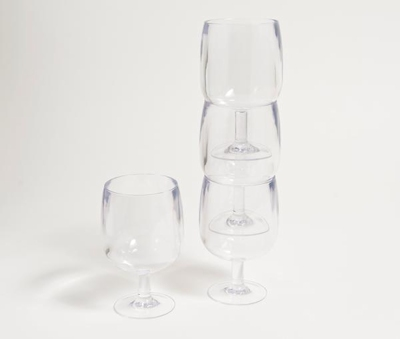 GALL NESTING 8OZ WINE GLASSES