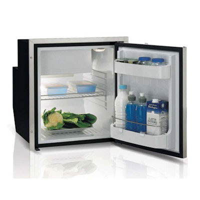 Vitrifrigo 2.2 cu ft Stainless Steel Refrigerator-Freezer - 2.2 cu ft