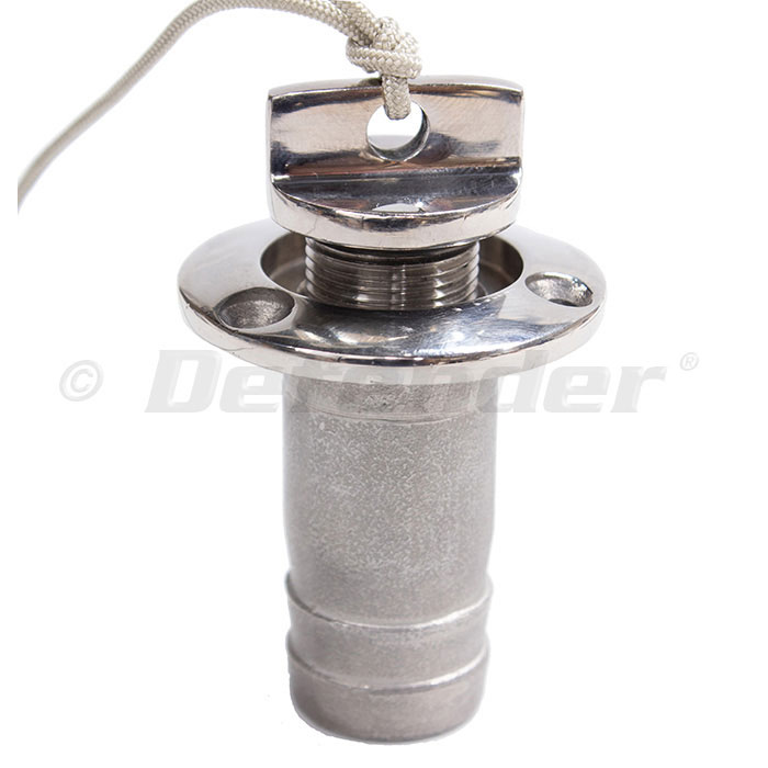 Achilles Stainless Drain Plug and Sleeve