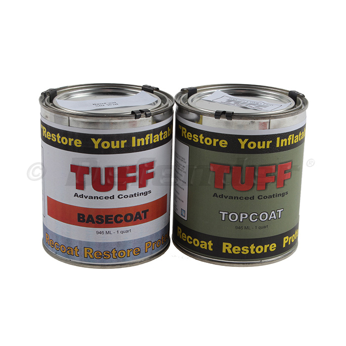 TUFF Inflatable Boat Restoration Kit - Gray