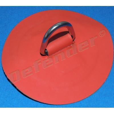 Defender Inflatable Boat Hypalon D-Ring - 35 mm Red