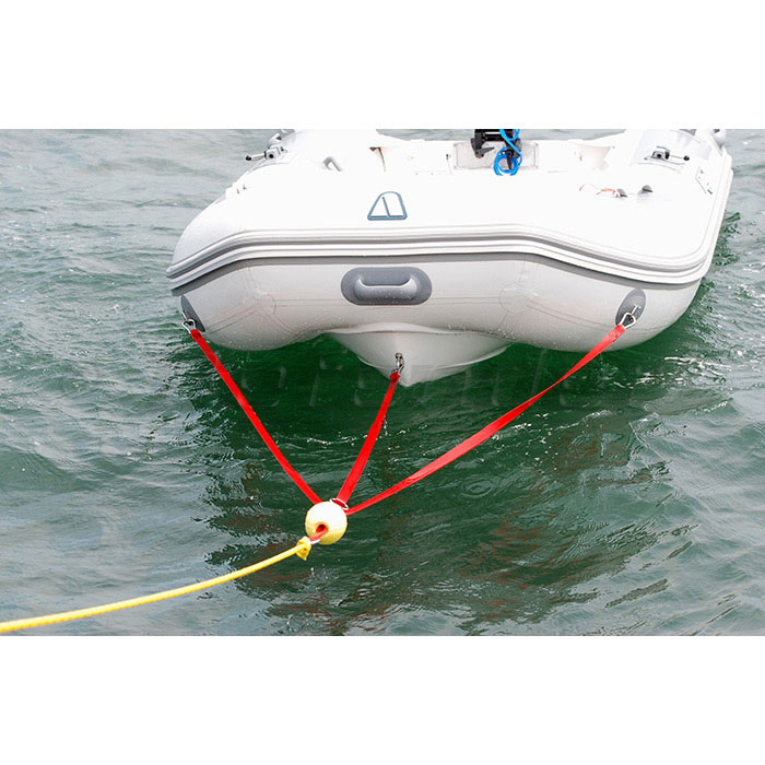 [SCHEMATICS_4FD]  C-Level 3-Point Dinghy Towing Bridle for Inflatable Boats-DEFENDER  EXCLUSIVE!! | Defender Marine | Inflatable Towing Harness |  | Defender Marine