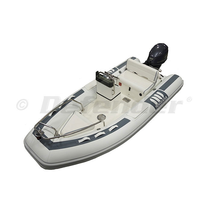 Novurania DL 360 Rigid Hull Inflatable (RIB) w/ Yamaha F40LA EFI, Bow Rail