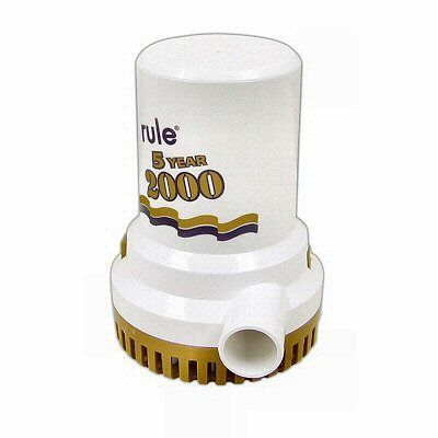 RULE GOLD NON-AUTO BILGE PUMP